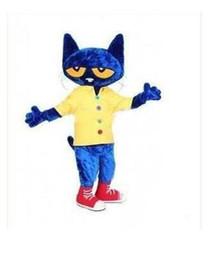 $enCountryForm.capitalKeyWord Canada - new Pete the Cat Cartoon Mascot Costume Halloween Fursuit Fancy Dress Mascot Costume