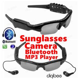 $enCountryForm.capitalKeyWord Canada - Wholesale- Smart Glasses MP3 Player Stereo Bluetooth Headset HD 720P Mini Camcorder Sunglasses Camera DV DVR Digital Video Audio Recorder