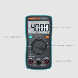 Auto voltAge tester online shopping - ZT98 ZT100 ZT101 ZT102 Auto Digital Multimeter Counts Backlight AC DC Current Voltage Ohm Tester Portable LCD Screen Meter