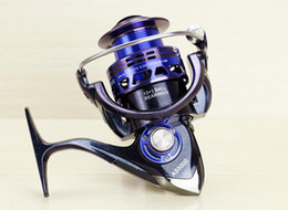 blue lures NZ - Good quality New AS2000 3000 4000 5000 6000 7000 Quality Lure 14BB Spinning Fishing Reel Spinning Reel