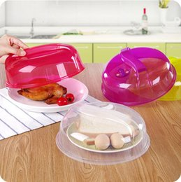 microwave cookware NZ - Microwave Ventilated Plate Dish Food Bowl Cookware Cover lid Plate Cover Food Plate Vented Splatter Protector Kitchen Cooking Tool