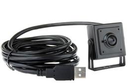 Опт 1.3 Мп мини-USB пин-отверстие камеры,30х30мм дешевые USB камеры на банкомат с 1,3 объектив пинхол,подключи играть.
