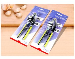 Garlic Ginger Gadgets NZ - Creative home kitchen gadgets free shipping stainless steel Crimping garlic is squeezed garlic ginger machine Daosuan