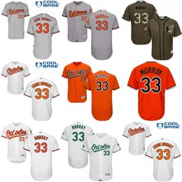 a631182114b ... MEN Baltimore Orioles Jerseys 33 Eddie Murray White Black Orange Flex  Base Baseball Jerseys Free Shipping ...