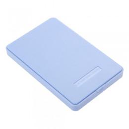 Discount external hard drive enclosure case - Wholesale- 2016 New Arrive Blue External Enclosure Case for Hard Drive HDD 2.5Inch Usb 3.0 Sata Hdd Durable Portable Cas