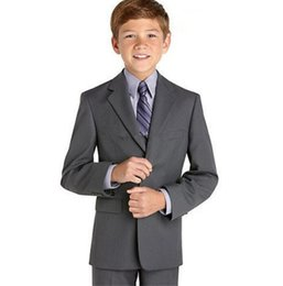 $enCountryForm.capitalKeyWord UK - Modern Design boys suits for weddings fashion boys formal occasion suits tuxedos custom made gray suits(jacket+pants+vest)