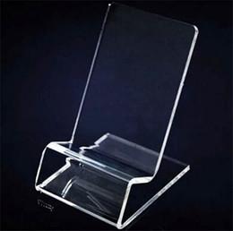 DHL schnelle Lieferung Acryl Handy Handy Display Ständer Halter stehen für 6 Zoll iphone Samsung HTC