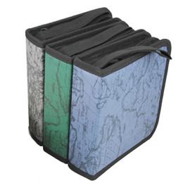 Großhandels-Neuer 40 Disketten-CD DVD Kasten-Speicher-Halter tragen Kasten-Organisator-Hülsen-Mappen-Abdeckungs-Beutel-Kasten CD DVD Halter-Speicher-Abdeckungs-gelegentliche Farbe