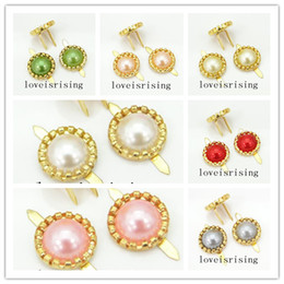 a4a110b56 Box Brads online shopping - 13 Colors Pearl Brads Paper Fastener for  wedding favor box DIY