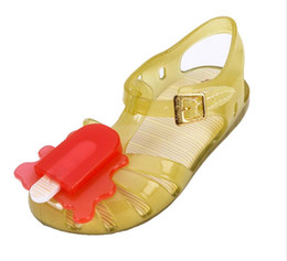 $enCountryForm.capitalKeyWord Canada - children Mini Melissa Jelly Sandals For Baby Boys Girls ice Cream Sandalss Children Melissa Plastic Shoes Kids Infantil Shoes