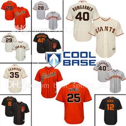 8c8253247 ... Custom 25 Barry Bonds San Francisco Giants 28 Buster Posey Baseball  Jerseys Bumgarner Crawford Pence Panik ...