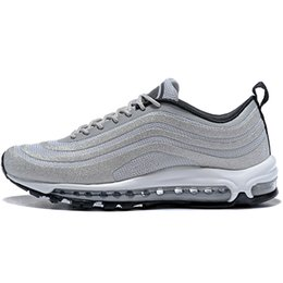 China 97 OG X Undftd Black Speed DS Men Running Shoes Women Sneakers Trainers Men Sports Shoes Eur 46 US 12 Tripel White Black cheap sport flats shoes suppliers