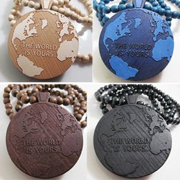Wooden world maps online wooden world maps for sale the world is yours map good wood nyc hip hop wooden necklace fashion jewelry free shipping gumiabroncs Image collections