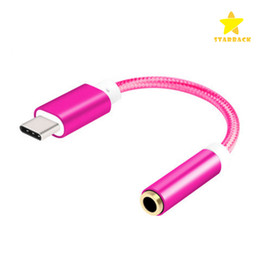 HeadpHones audio cable online shopping - USB TYPE C to mm Audio Adapter Cable Headphone Earphone Jack AUX Conventor for Letv Max with Retail Package