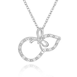 Best Wedding Pendant Australia - best gift gourd sterling silver plated jewelry Necklace for women DN626,wedding 925 silver Pendant Necklaces with chain
