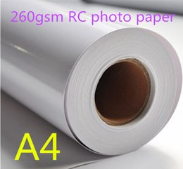 $enCountryForm.capitalKeyWord UK - 260gsm Glossy Waterproof RC photo paper roll for wholesale 30m per roll