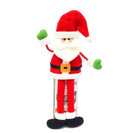 $enCountryForm.capitalKeyWord UK - Wholesale-Happy New Year Christmas Decoration Supplies Red Wine Bottle Cover Decoration Ornament Dinner Party Table Decor Gifts JJ932