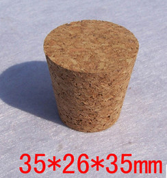 $enCountryForm.capitalKeyWord Canada - Package supplies Free shipping Cork bottle stopper, glass bottle cans drifting sealed bottle cap ceramics 35mm*26mm*35mm