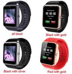 Best smart watch for iphone online shopping - Best GT08 Bluetooth Smart Watch with SIM Card Slot and NFC Health Watchs for Android Samsung IOS Apple iphone Smartphone Bracelet Smartwatch