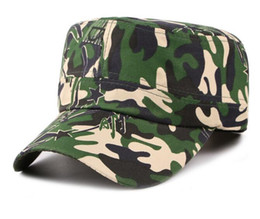 $enCountryForm.capitalKeyWord NZ - New Military Army Styles Men Camo Camouflage Men Women Unisex Baseball Hats Hunting Baseball Cadet Casual Battle Caps for Men
