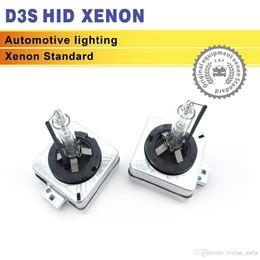 2x 35W 3200LM D3 D3S D3C Xenon HID Bulb 4300k 6000k 8000k Auto auto fari Kit di sostituzione lampada per Audi a6 BMW Benz 12V in Offerta