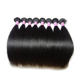 Cheap 18 Inch Hair Extensions NZ - Unprocessed Cheap Price Virgin Brazilian Straight Hair,Mix Length 12-30 inch, 8bundles lot,100% Human Hair Extension , Free Shipping