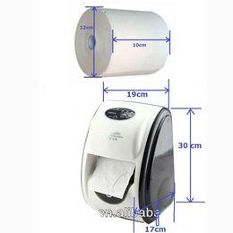 $enCountryForm.capitalKeyWord Australia - Wholesale- Automatic Cut Paper Dispenser Motion Activated Sensor Tissue Holder