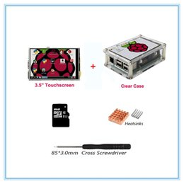 $enCountryForm.capitalKeyWord Canada - Freeshipping New version 3.5 Inch TFT LCD USB Touch Screen 320x480 LCD Display with Case+ Heat Sinks+Touch Pen for Raspberry Pi 3