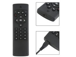 Wholesale Mini Laptop Canada - Universal 2.4GHz Mini Wireless Fly Gaming Air Mouse G65 Double Sided Remote Controller For Android TV BOX Media Player Laptop