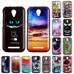 $enCountryForm.capitalKeyWord Canada - Free Shipping Color Painted TPU Case for ZTE A110 A452 Blade AF3 V7 Lite ZTE Z11 Mini S Cell Phone Cover