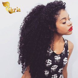 $enCountryForm.capitalKeyWord Australia - Full Lace Human Hair Wigs Deep Curly Natural Black Color Lace Front Wigs Brazilian Indian Peruvian Malaysian Mongolian Deep Curly Wigs