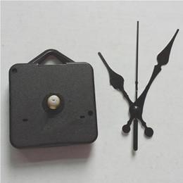 Kit movimento orologio al quarzo fai-da-te Accessori orologio nero Meccanismo meccanismo mandrino con set di manovelle Lunghezza asta 13 Ottima in Offerta