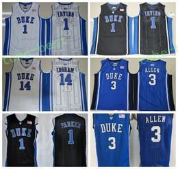f66ad4565be duke blue devils 12 justise winslow white jersey; 2017 duke blue devils  jerseys college 3 grayson allen 1 kyrie irving shirt 1 jabari parker