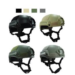 Fighting Australia - Outdoor Fighting Equipment Airsoft Paintabll Shooting Helmet Head Protection Gear Tactical Fast Helmet Upgraded Mich 2001 Helmet