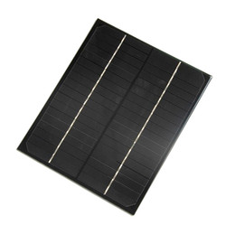 $enCountryForm.capitalKeyWord UK - Wholesale! 6W Monocrystalline 18V Solar Cell DIY Solar Panel Charger Solar System For 12V Battery 200*170MM 10PCS Lot High Quality