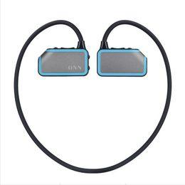 $enCountryForm.capitalKeyWord NZ - Wholesale- The Newest Portable 8GB Bluetooth MP3 Walkman Smart Headset Waterproof Lossless Music Player Running Sports MP3 Player