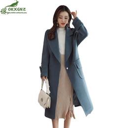$enCountryForm.capitalKeyWord Canada - Winter wool coat new female Slim big size high-end jacket women medium long elegant woolen Outerwear autumn clothingOKXGNZ AF192