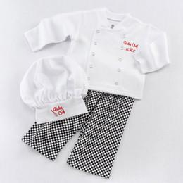 cotton chefs hat wholesale infants baby chef embroidery 3pc set chefu0027s hatchef jacket