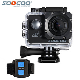soocoo camera UK - SOOCOO C30R 4K Sports Camera Wifi Gyro NTK96660 30M Waterproof Adjustable Viewing angles Action Camera with 2.4G remote