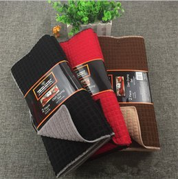 Kitchen Cushions NZ - 38 * 51 cm Microfiber Dish Drying Mat For kitchen microfiber cushion pad Tableware drying mat