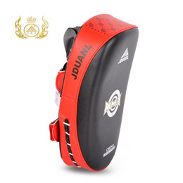 Chinese  Brand Muay Thai Curve tkd Thai Kick Boxing Pads Training Shield Pads Punch MMA Foot Target ISP manufacturers