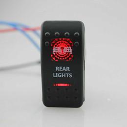 $enCountryForm.capitalKeyWord Australia - Guaranteed 100% IZTOSS Rear Light 12V SPST Rocker Switch Car Van Dash Boat Marine LED ON-OFF illuminated Free Shipping