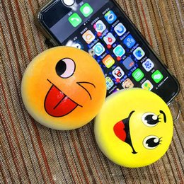 $enCountryForm.capitalKeyWord Canada - 7cm Cute Kawaii Squishy Buns Big eyes smile Bread Shape Pendant Phone Charm To Phone Bag baby Toy
