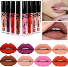 China Popfeel 8 color Makeup Tint liquid Matte Lipstick Menow Velvet High quality Waterproof Long Lasting Lipgloss sexy Lip Cosmetic Set suppliers