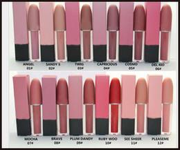 $enCountryForm.capitalKeyWord Canada - 2017 New Hot Brand M@C High quality Makeup Matte Lipsticks Lip Gloss liquid lipstick 12 color matte lipgloss DHL Free shipping