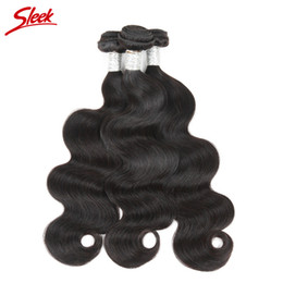 Discount sleek hair extensions wholesale 2017 sleek hair sleek brazilian hair body wave 100 human hair weave bundles unprocessed peruvian malaysian indian cambodian mongolian remy hair extensions pmusecretfo Gallery