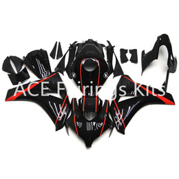 fairings for UK - 3 free gifts For Honda CBR1000RR 08 09 10 11 1000RR 2008 2009 2010 2011 ABS Plastic Injection Motorcycle Full Fairing Kit Black red road A24