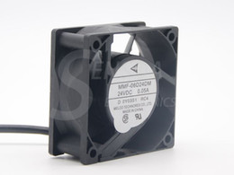 Discount 6cm inverter fan - Brand New Melco MMF-06D24DM RC4 For Mitsubishi inverter fan 6025 60m 6cm 24V 0.05A server cooling fan