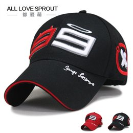 moto gp wholesale UK - Wholesale- 2017 Racing Caps MOTO GP Jorge Lorenzo 99 Cap Baseball Cap Motorcycle gorra Hat Racing Hats Embroidery Log free shipping