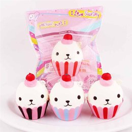 $enCountryForm.capitalKeyWord Canada - Kwaii Jumbo Ice Cream Phone Straps Soft Squishy Slow Rising Squeeze Squishies Toys for Bags Cell Phone Kids Toy Super Cute Jumbo